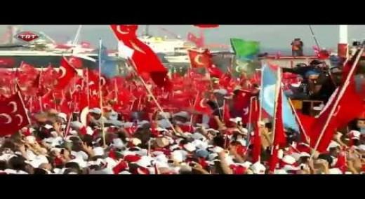 Demokrasi ve Şehitler Mitingi – MHP Genel Başkanı Devlet Bahçeli