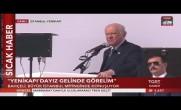 MHP Lideri Bahçeli, 'Büyük İstanbul Mitingi'nde Halka Hitap Etti